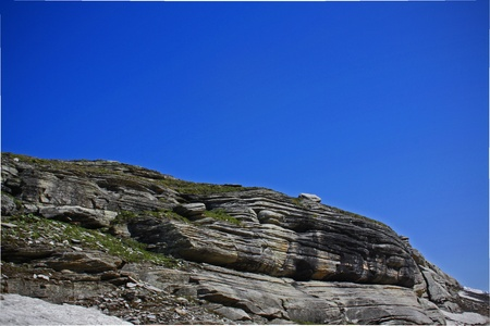 ledge: A rocky ledge Stock Photo