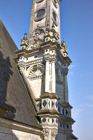 chambord: Chateau de Chambord in Loire Valley, France