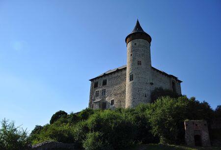 Kuneticka hora castle near Pardubice, Eastern Bohemia, Czech Republic Editorial
