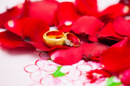 Wedding ring Stock Photo - 20976963