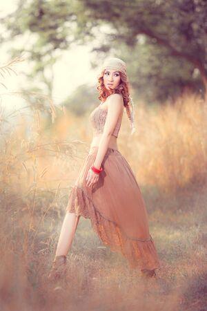 Bohemian   Gypsy woman