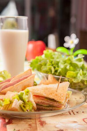 pollo prosciutto Sandwich