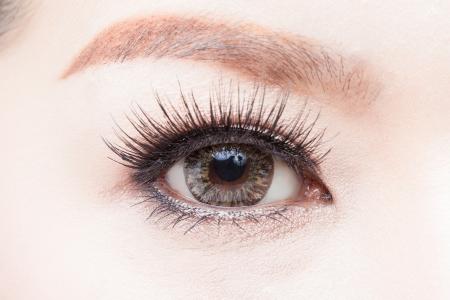 Woman s eye  photo