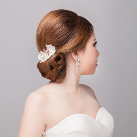 bridal   hair style  photo