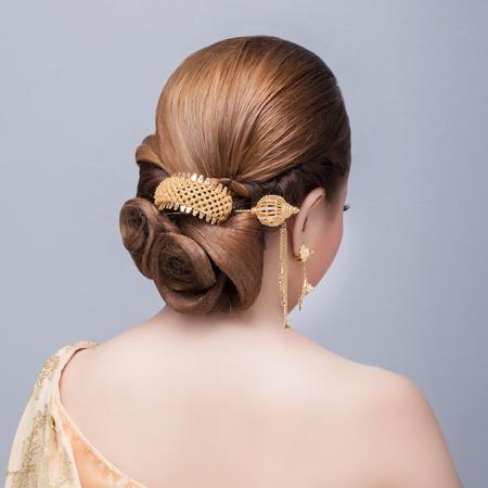 bridal hair: bridal   hair style