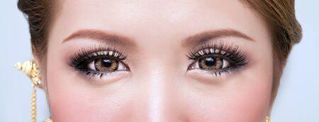 Woman s eye