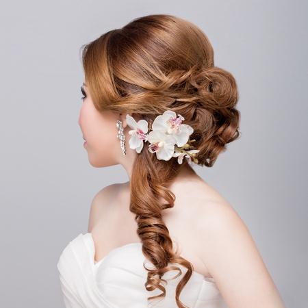 bridal   hair style  photo