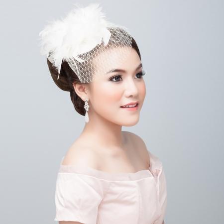 bridal make up and hair style