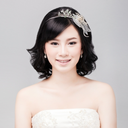 only one woman: bridal make up and hair style