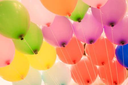 globos de cumplea�os: manojo de globos