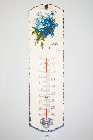 vintage thermometer photo