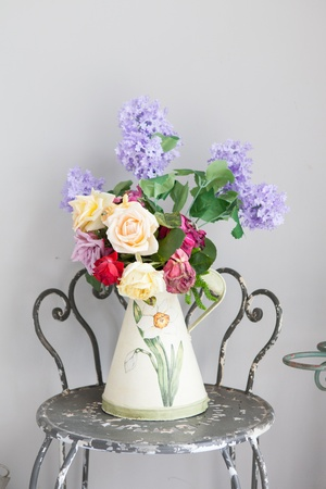 vase of flower photo
