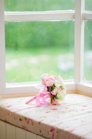 flower Bouquet near window