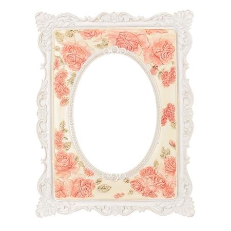 picture fiore cornice fatta da resina con vernice di colore a mano