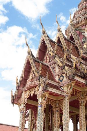 pattani thailand: Temples in Thailand province Pattani ancient  art Foto de archivo