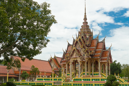 pattani thailand: Los templos de la provincia de Tailandia Pattani arte antiguo