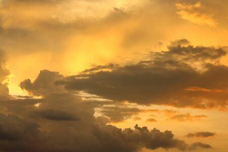 nebulosity: Sky and Cloud at sunset, beautiful nature sky soft cloud Colorful and motion  raincloud  : you may be used as background :