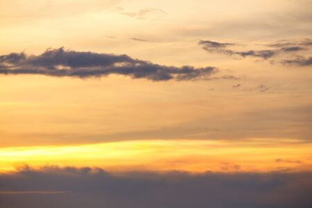 nebulosity: Sunset. beautiful nature Sky and Cloud at sunset, Sky Colorful soft cloud and motion raincloud : you may be used as background :