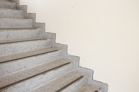 Bon Close Up Stairs Terrazzo,marble Floor In Sideways Of A Wall Stock Photo    72336248