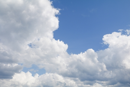 blue sky and cloud beautiful colorful in nature with copy space for add text