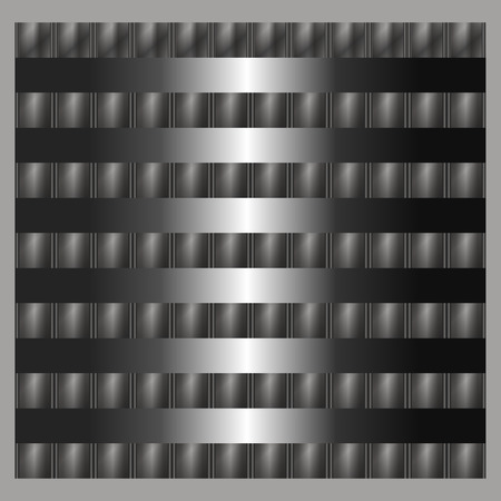 steel sheet: Metal silver steel background texture vector Illustration with eps 10