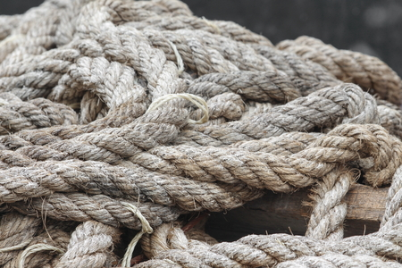attachment: closeup boat ropes