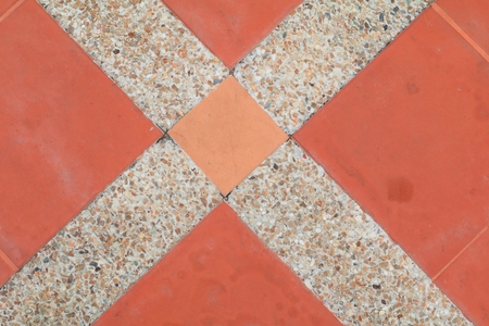 tiles floor texture sandstone or stone wash  background. Stock Photo