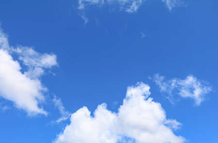 blue sky with  cloud bright beautiful  art of nature  and copy space for add text
