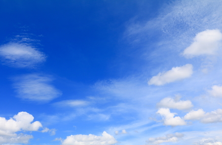 blue sky withcloud and raincloud, art of nature beautiful and copy space for add text