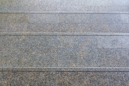 stone stairs walkway floor down. select focus with shallow depth of field. Stock Photo