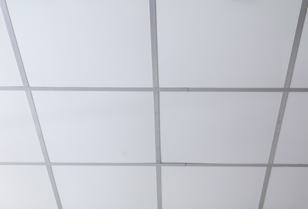 ceiling panel white old with copy space for add text