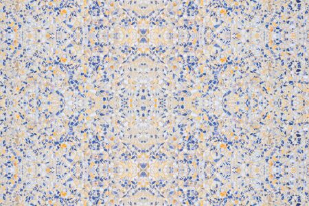 terrazzo flooring, marble old texture or polished stone pattern art background beautiful