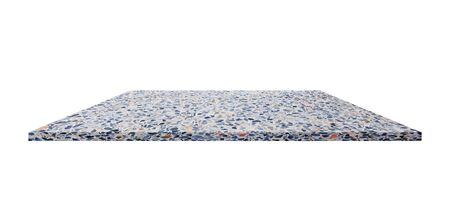 shelves marble design. terrazzo flooring beautiful stone on background for your product Standard-Bild