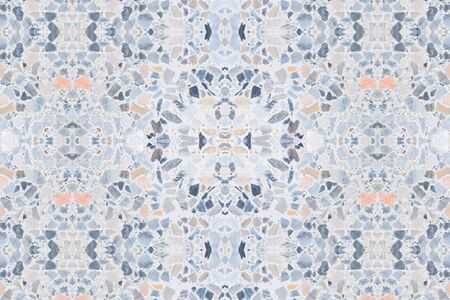 terrazzo flooring old texture or polished stone for background pattern and color beautiful