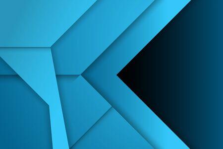 blue arrow design background. vector illustration