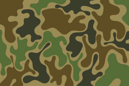 camouflage design army modern tamplate background. vector illustration