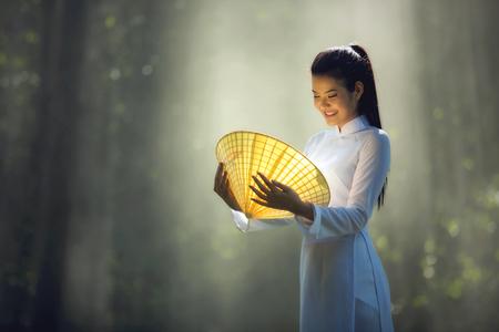 Pretty girl in Vietnam