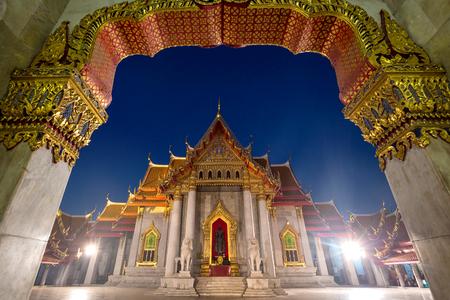 Wat Benchamabopitr Dusitvanaram Bangkok THAILAND, The Marble Temple
