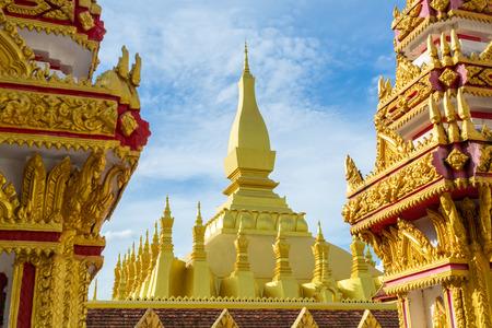 Wat Phra That Luang, Vientiane, Lao