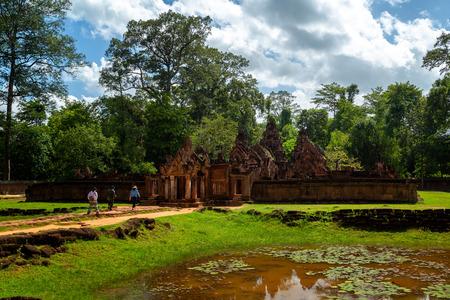 Banteay Srei - Angkor Wat Complex, Siem reap in Cambodia.