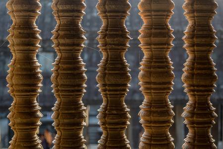 Cambodian flagstones in Angkor Wat