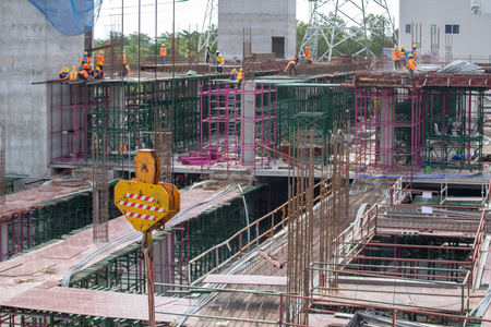 tower crane in construction site industry.