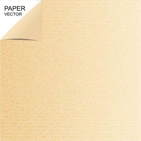 marrom: Textura de papel marrom ou fundo Ilustração