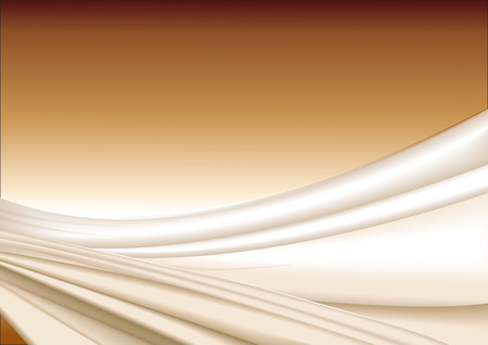 silk fabric: Vector de tela de seda de oro resumen de antecedentes