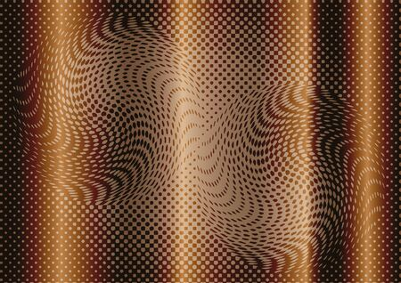 web pages: Optical illusion abstract on brown background. Use for your design, cards, invitation, wallpapers, background, pattern fills, curtain, web pages elements. vector illustration. Illustration