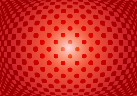 web pages: Optical illusion abstract on red background. Use for your design, cards, invitation, wallpapers, background, pattern fills, web pages elements. vector illustration.