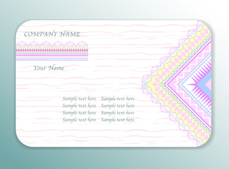ideal: Vector design template. Ideal for wedding, Ethnic vintage patterns, tribal, Business Cards, save the date, baby shower, mothers day, valentines day, birthday cards, invitations. Vector illustration.