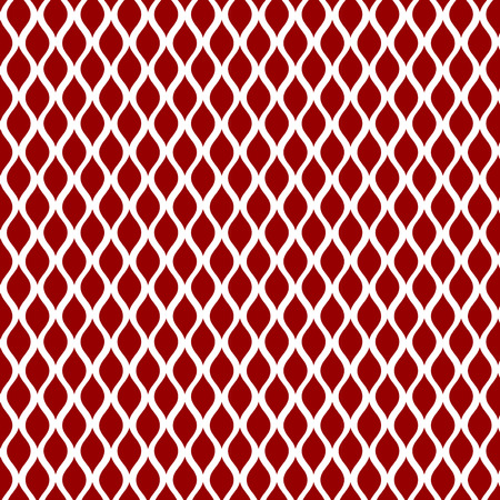 year curve: Red curve seamless pattern background. Can be used for your design background New Year and Christmas concepts, swatches included. Illustration