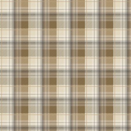 tartan plaid: Brown tartan plaid background in vector seamless pattern. Pattern swatches included in file. Illustration