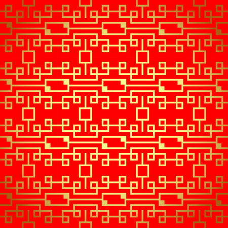 fortunate: Chinese vector seamless pattern. Endless texture can be used for wallpaper, pattern fills, web page background,surface textures.